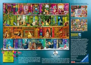 A Stitch in Time, 1000pc Puzzles;Adult Puzzles - image 2 - Ravensburger