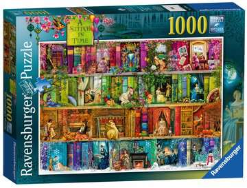 A Stitch in Time, 1000pc Puzzles;Adult Puzzles - image 3 - Ravensburger