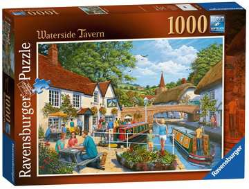Waterside Tavern, 1000pc Puzzles;Adult Puzzles - image 1 - Ravensburger
