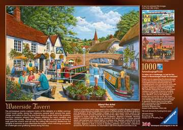 Waterside Tavern, 1000pc Puzzles;Adult Puzzles - image 3 - Ravensburger