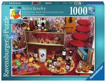 Perplexing Retro Revelry, 1000pc Puzzles;Adult Puzzles - image 1 - Ravensburger