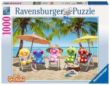 Gelinis im Sommerurlaub Puzzle;Erwachsenenpuzzle - Bild 1 - Ravensburger