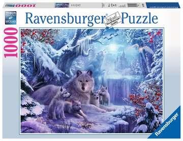 19704 Erwachsenenpuzzle Winterwölfe von Ravensburger 1