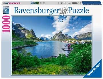 19711 Erwachsenenpuzzle Auf den Lofoten von Ravensburger 1