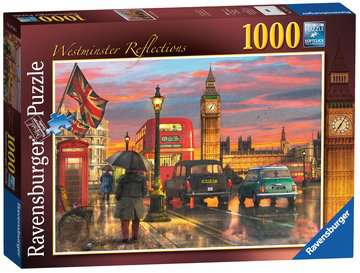 London - Westminster Reflections, 1000pc Puzzles;Adult Puzzles - image 4 - Ravensburger