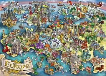 Puzzle 1000 p - European Wonders Puzzle;Puzzles adultes - Image 3 - Ravensburger