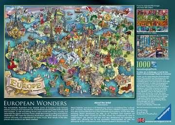 Puzzle 1000 p - European Wonders Puzzle;Puzzles adultes - Image 4 - Ravensburger