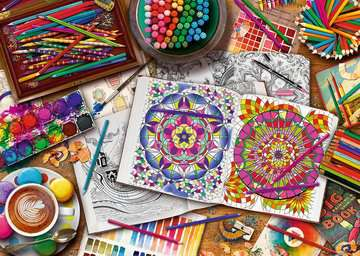 The Artist s Desk, 1000pc Puzzles;Adult Puzzles - image 2 - Ravensburger