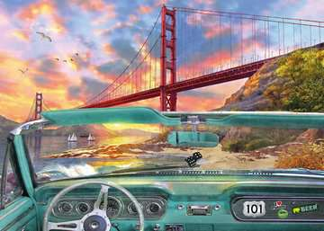 Golden Gate Jigsaw Puzzles;Adult Puzzles - image 2 - Ravensburger
