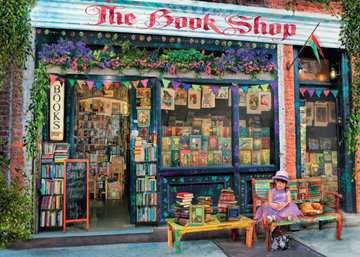 The Bookshop Jigsaw Puzzles;Adult Puzzles - image 2 - Ravensburger