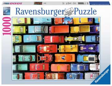 KOLOROWE MODELE - 1000 EL. Puzzle;Puzzle dla dorosłych - Zdjęcie 1 - Ravensburger