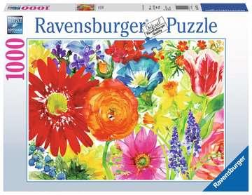 Abundant Blooms Jigsaw Puzzles;Adult Puzzles - image 1 - Ravensburger
