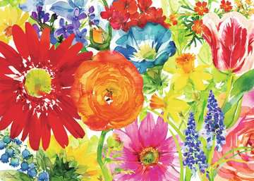 Abundant Blooms Jigsaw Puzzles;Adult Puzzles - image 2 - Ravensburger