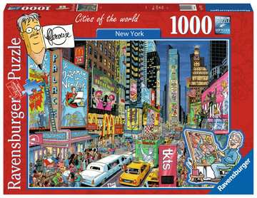 Fleroux - New York, cities of the world Puzzels;Puzzels voor volwassenen - image 1 - Ravensburger