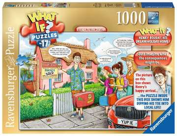 What If? No.17 Escape to The Seaside, 1000pc Puzzles;Adult Puzzles - image 1 - Ravensburger
