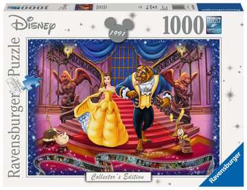Disney Collector s Edition Beauty & the Beast, 1000pc Puslespil;Puslespil for voksne - Billede 1 - Ravensburger