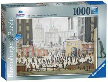Lowry Coming From the Mill, 1000pc Puzzles;Adult Puzzles - image 1 - Ravensburger