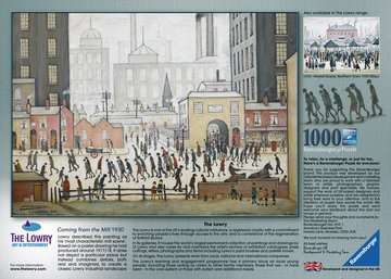 Lowry Coming From the Mill, 1000pc Puzzles;Adult Puzzles - image 3 - Ravensburger