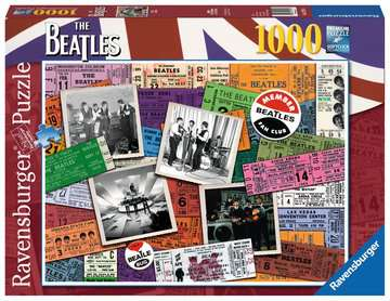 Beatles: Tickets Jigsaw Puzzles;Adult Puzzles - image 1 - Ravensburger