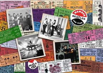 Beatles: Tickets Jigsaw Puzzles;Adult Puzzles - image 2 - Ravensburger