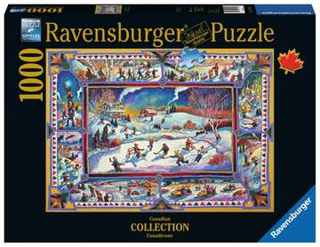 Canadian Winter Jigsaw Puzzles;Adult Puzzles - image 1 - Ravensburger