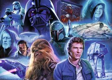 Star Wars Collection II, 1000pc Puzzles;Adult Puzzles - image 2 - Ravensburger