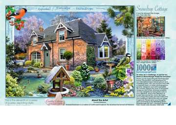 Country Cottage Collection - Snowdrop Cottage, 1000pc Puzzles;Adult Puzzles - image 3 - Ravensburger