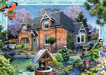 DOMEK WIEJSKI PRZEBIŚNIEG 1000EL Puzzle;Puzzle dla dorosłych - Zdjęcie 3 - Ravensburger
