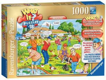 What If? Fantasy Golf, 1000pc Puzzles;Adult Puzzles - image 1 - Ravensburger