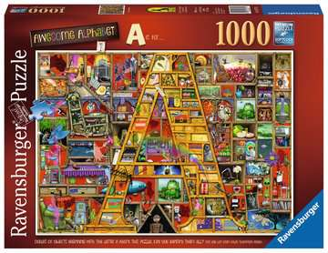 Colin Thompson - Awesome Alphabet A, 1000pc Puzzles;Adult Puzzles - image 1 - Ravensburger