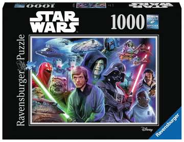 Star Wars Collection II, 1000pc Puzzles;Adult Puzzles - image 1 - Ravensburger