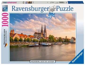REGENSBURG WIDOK NA STARE MIASTO 1000EL Puzzle;Puzzle dla dorosłych - Zdjęcie 1 - Ravensburger