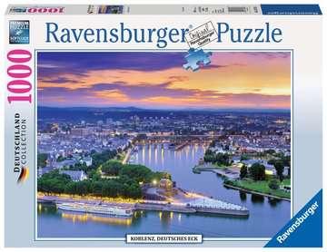 KOBLENZ , NIEMIECKI NAROŻNIK 1000EL Puzzle;Puzzle dla dorosłych - Zdjęcie 1 - Ravensburger