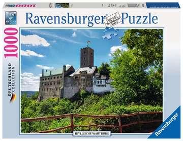 Idyllische Wartburg Puzzle;Erwachsenenpuzzle - Bild 1 - Ravensburger