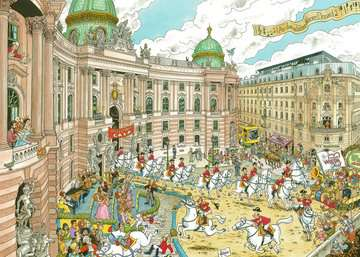 Fleroux - Vienna, cities of the world Puzzle;Puzzles adultes - Image 2 - Ravensburger