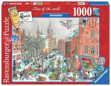 Fleroux - Amsterdam in Winter Puzzels;Puzzels voor volwassenen - image 1 - Ravensburger