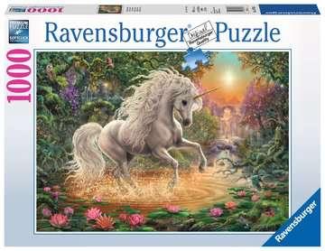 Puzzle 2D 1000 elementów: Jednorożec Puzzle;Puzzle dla dorosłych - Zdjęcie 1 - Ravensburger