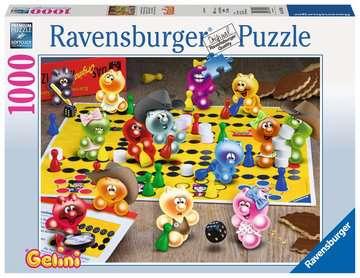 Spieleabend bei den Gelini Puzzle;Erwachsenenpuzzle - Bild 1 - Ravensburger