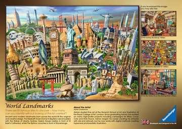 World Landmarks, 1000pc Puzzles;Adult Puzzles - image 2 - Ravensburger