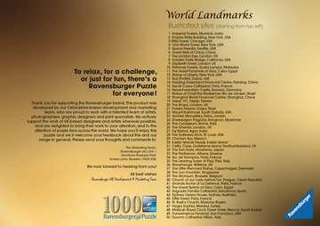 World Landmarks, 1000pc Puzzles;Adult Puzzles - image 3 - Ravensburger