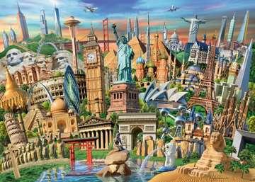 World Landmarks, 1000pc Puzzles;Adult Puzzles - image 4 - Ravensburger