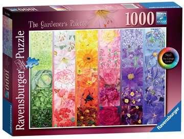 The Gardener s Palette - Cottage Garden, 1000pc Puzzles;Adult Puzzles - image 1 - Ravensburger