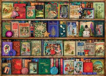 The Christmas Library Puzzle;Puzzles adultes - Image 3 - Ravensburger