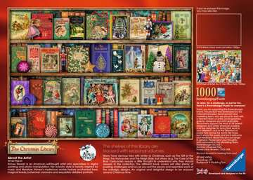 The Christmas Library Puzzle;Puzzles adultes - Image 4 - Ravensburger