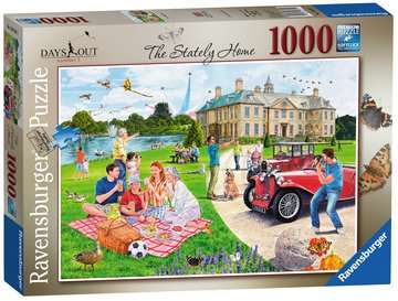 Days Out No.1 - The Stately Home, 1000pc Puzzles;Adult Puzzles - image 1 - Ravensburger