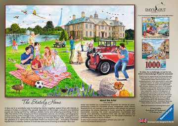 Days Out No.1 - The Stately Home, 1000pc Puzzles;Adult Puzzles - image 2 - Ravensburger