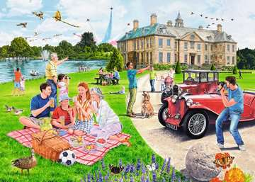 Days Out No.1 - The Stately Home, 1000pc Puzzles;Adult Puzzles - image 3 - Ravensburger