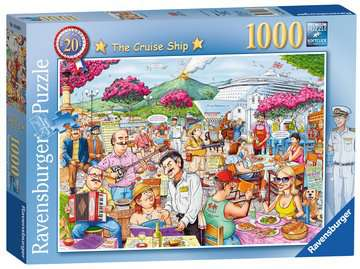 Best of British - The Cruise Ship, 1000pc Puzzles;Adult Puzzles - image 1 - Ravensburger