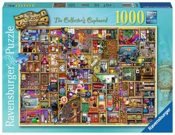 The Curious Cupboard No.6 - The Collector s Cupboard, 1000pc Puzzles;Adult Puzzles - image 1 - Ravensburger