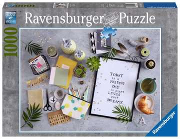 Start living your dream Puzzels;Puzzels voor volwassenen - image 1 - Ravensburger
